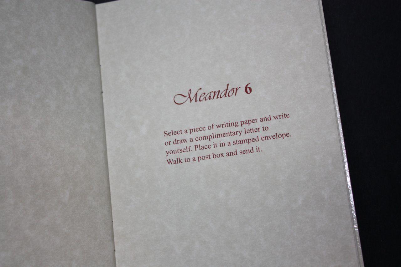 Meandors Book